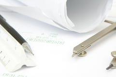 绘图工具 免版税库存图片