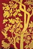 绘泰国传统的艺术 免版税库存照片