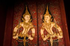 绘泰国 免版税库存图片