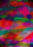 绘画数字式结构。 抽象油漆 库存例证