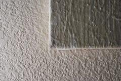 绘的织地不很细墙壁 免版税库存照片