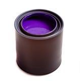 绘紫色 库存图片