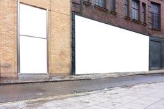 给伦敦海报站点做广告 免版税库存照片