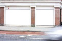 给伦敦空间做广告 免版税图库摄影