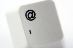 给关键字发电子邮件 免版税库存图片
