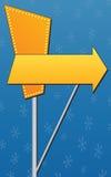 给减速火箭的符号做广告 免版税库存图片