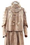 给女性历史记录穿衣 库存图片