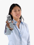 给您打电话 免版税图库摄影