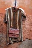 给摩洛哥销售额穿衣 库存照片