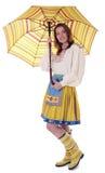 给穿衣的爱沙尼亚语传统妇女 库存照片
