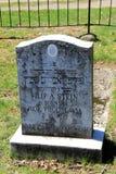 给美国被带来的犹太难民墓石在WWII以后, Oswego,纽约, 2016年 免版税库存图片