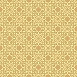 绝对美好的在淡黄色骆驼颜色的背景设计无缝的背景样式例证 皇族释放例证