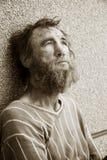 绝望无家可归者 免版税库存图片