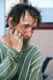 绝望无家可归者 免版税图库摄影