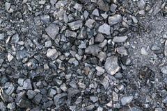 绝种火的煤炭 免版税库存图片