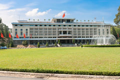 统一宫殿 免版税库存照片