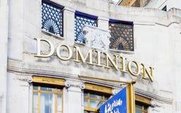 统治剧院在伦敦,英国 库存图片