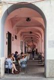 统治权口岸的,意大利拱道 免版税库存图片