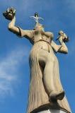 统治权雕象 库存图片