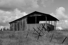 统治者美国谷仓和生活在爱达荷 库存图片