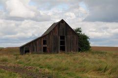 统治者美国谷仓和生活在爱达荷 免版税图库摄影