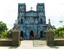 绥和市, PHU YEN,越南, 2018年4月14日, :教会MangLang,富安省,越南 免版税库存照片