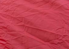 绯红色布料是一个自然样式 免版税库存图片