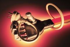 绳子现有量机器人的抓力 免版税库存照片
