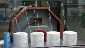 绳索的生产 捆绑绳索 股票录像