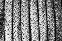 绳索纹理海绳子船 免版税库存照片