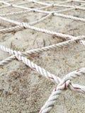 绳索网络 库存图片