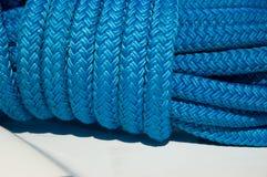 绳索s游艇 库存图片