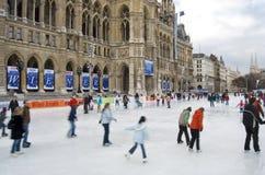维也纳人梦想的冰 库存照片