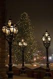 维也纳人的圣诞节 免版税库存照片