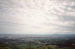 维也纳全景。 免版税库存照片