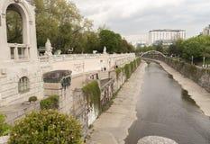 维也纳在夏天 免版税库存照片