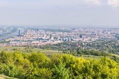 维也纳地平线 免版税库存照片