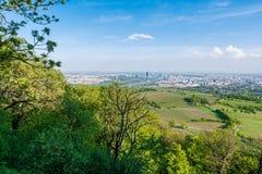 维也纳地平线 免版税库存图片