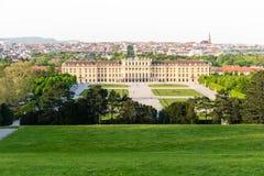 维也纳地平线Schänbrunn 库存照片