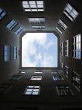 维也纳天空 免版税图库摄影