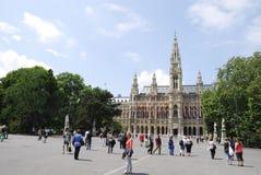 维也纳市之家 免版税库存照片