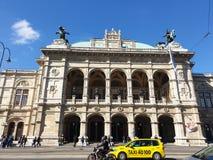 维也纳歌剧 库存图片