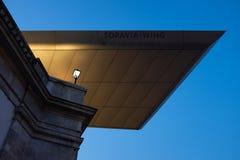 维也纳的阿尔贝蒂娜Soravia翼  免版税库存图片