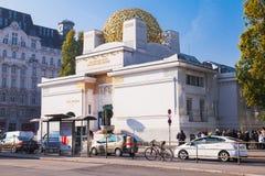 维也纳脱离大厦,在1897年修建 图库摄影
