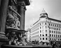 维也纳街 库存图片