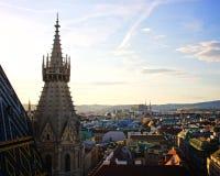 维也纳都市风景 库存图片