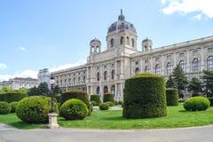 维也纳 自然历史记录的博物馆 库存照片