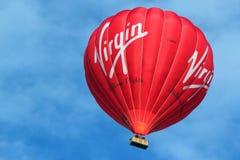 维京热空气气球。 免版税图库摄影