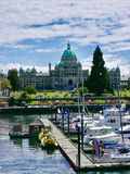 维多利亚加拿大 免版税库存照片