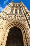 维多利亚塔在威斯敏斯特宫殿在伦敦,英国 库存图片